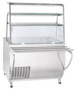 Прилавок для холодных закусок Abat ПВВ(Н)-70Т-НШ