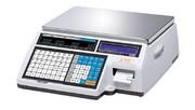 Весы электронные торговые с печатью этикеток CAS CL5000J-15IB TCP-IP