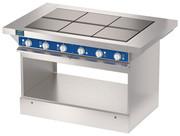 Шестиконфорочная плита без жарочного шкафа ATESY ЭПЧ-9-6-17
