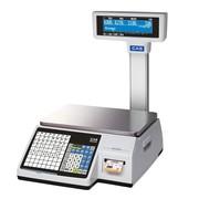 Весы электронные торговые с печатью этикеток CAS CL3000-15P TCP-IP