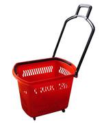 Корзина-тележка покупательская Корбис PBT30