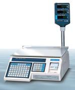Весы электронные торговые с печатью этикеток CAS LP-06R (v1.6)