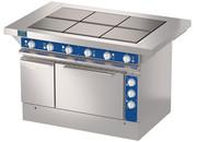 Шестиконфорочная плита с жарочным шкафом ATESY ЭПШЧ-9-6-24