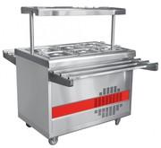 Прилавок для холодных закусок Abat ПВВ(Н)-70ПМ-НШ