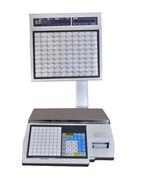 Весы электронные торговые с печатью этикеток CAS CL5000J-30IS TCP-IP
