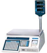 Весы электронные торговые с печатью этикеток CAS LP-15R (v1.6)