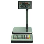 Весы электронные торговые со стойкой Твес ВР-4149-06-ИНТЕРФ(БР)