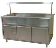 Холодильный прилавок открытый Тулаторгтехника ПВ(Н)О - 1