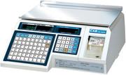 Весы электронные торговые с печатью этикеток CAS LP-30 (v1.6) TCP-IP