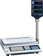 Весы электронные торговые со стойкой CAS AP-30EX BT