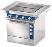 Четырехконфорочная плита с жарочным шкафом ATESY ЭПШЧ-9-4-16