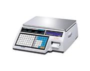 Весы электронные торговые с печатью этикеток CAS CL5000J-6IB TCP-IP