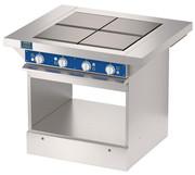 Четырехконфорочная плита без жарочного шкафа ATESY ЭПЧ-9-4-12