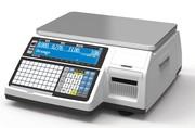 Весы электронные торговые с печатью этикеток CAS CL5000-15BJ TCP-IP