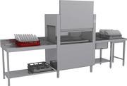 Тоннельная посудомоечная машина Elettrobar Niagara 411.1 T101EBDW (2150 DW)