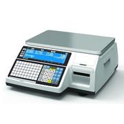Весы электронные торговые с печатью этикеток CAS CL5000J-30IB TCP-IP