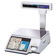 Весы электронные торговые с печатью этикеток CAS CL5000-15P TCP-IP