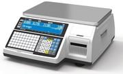 Весы электронные торговые с печатью этикеток CAS CL3000-15B TCP-IP