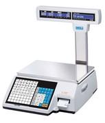 Весы электронные торговые с печатью этикеток CAS CL5000J-15IP TCP-IP