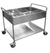Тележка для сбора посуды Abat ТС-100