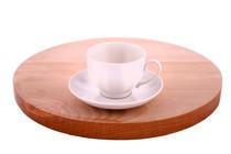 Чашка кофейная с блюдцем Дулевский фарфоровый завод С56