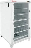 Расстоечный шкаф Восход ШРЭ-2.1 со стекл. дверцами, в обрешетке