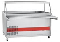 Прилавок для холодных закусок Abat ПВВ(Н)-70КМ-03-НШ