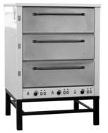 Печь хлебопекарная Восход  ХПЭ-500 нерж  (дер.обрешетка)